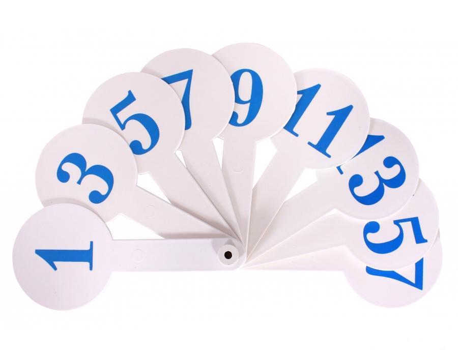 Числовой веер 159